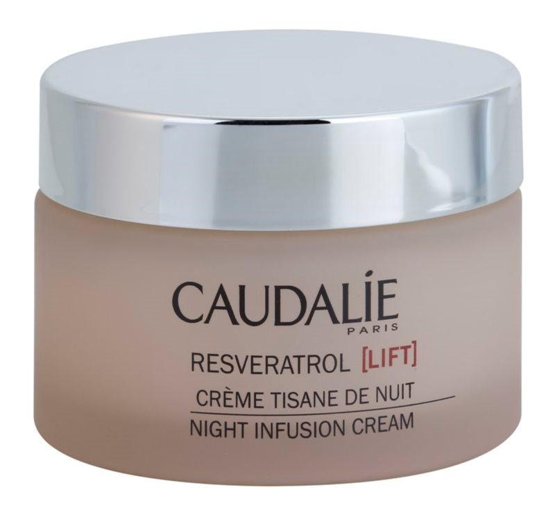 Caudalie Resveratrol [Lift] éjszakai regeneráló krém kisimító hatással